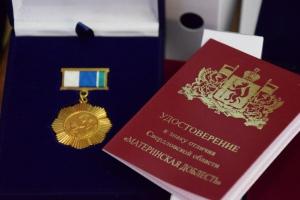 Двух каменских мам губернатор в августе наградил медалью «Материнская доблесть»