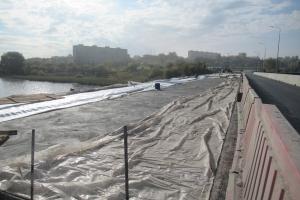 Ремонт Байновского моста в Каменске-Уральского. Есть трудности, но процесс идет