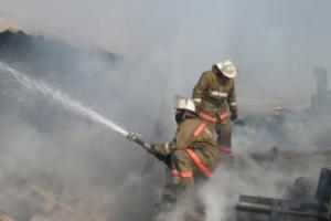 В субботу в Каменске-Уральском горело окно в многоэтажке на улице Лермонтова