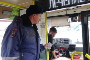 В Каменске-Уральского Госавтоинспекция проверила работу водителей автобусов