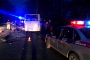 В Каменске-Уральском сегодня в ДТП попал рейсовый автобус