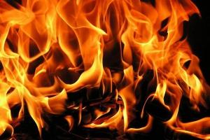 21 января вечером произошел пожар в пятиэтажке на улице Белинского в Каменске-Уральском