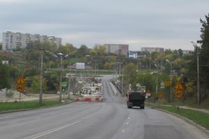 Две полосы для движения транспорта на Байновском мосту в Каменске-Уральском планируют открыть 5 октября