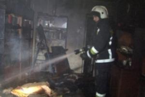 В субботу вечером в Каменске-Уральском произошел пожар в доме на бульваре Парижской Коммуны