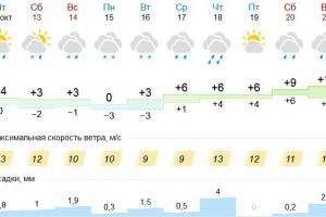 В ближайшие дни Каменск-Уральский будут преследовать дожди и снег. Но через неделю потеплеет