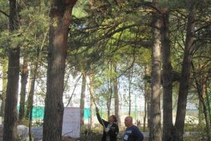 Сегодня в Каменске-Уральском прошел субботник в главном городском парке