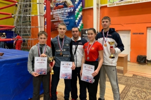 Каменцы завоевали четыре медали на Кубке России по кикбоксингу