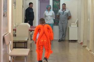 Детская городская больница Каменска-Уральского приобрела «костюмы космонавтов» для маленьких пациентов