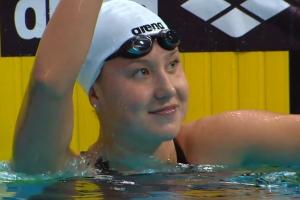 Дарья Устинова из Каменска-Уральского завоевала золото чемпионата России по плаванию и едва не установила новый рекорд страны