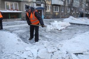 В Каменске-Уральском определились, как правильно убирать снег во дворах