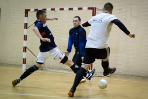 Завершается первый этап чемпионата Каменска-Уральского по мини-футболу