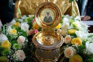 19 ноября в Каменск-Уральский прибывает ковчег с частицей мощей и икона блаженной Матроны Московской