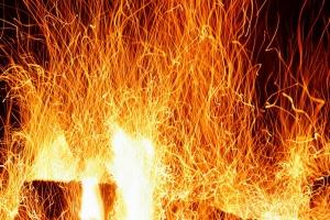 Сегодня ночью под Каменском-Уральским горела котельная частного жилого дома