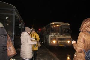 В Каменске-Уральском 19 ноября провели очередной мониторинг работы общественного транспорта вечером