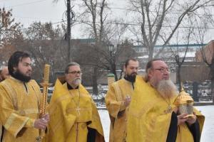 В Каменск-Уральском встретили ковчег с частицей мощей святой блаженной Матроны Московской