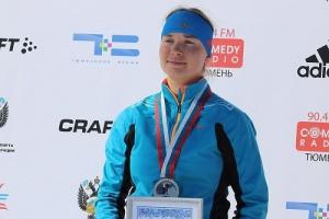 Тамара Воронина из Каменска-Уральского выиграла мега масс-старт на Кубке России по биатлону