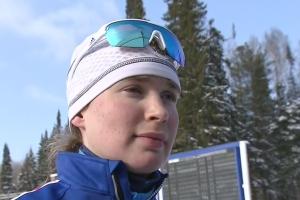 Тамара Воронина из Каменска-Уральского стала пятой в спринте на Кубке России по биатлону