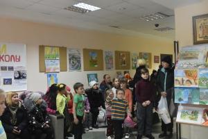 В Каменске-Уральском открылась выставка участников международного конкурса детского творчества «Красота Божьего мира».