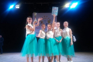 Юные певицы из вокально-эстрадной студии «Веснушки» из Каменска-Уральского получили Диплом I степени в номинации «Эстрадный вокал»