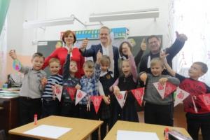 Первоклассники Каменска-Уральского ― подопечные команды «АИСТ» создали своими руками талисман 2019 года